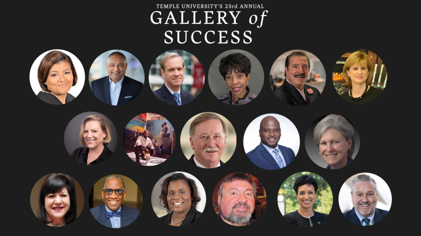 collage of gallery of success inductees