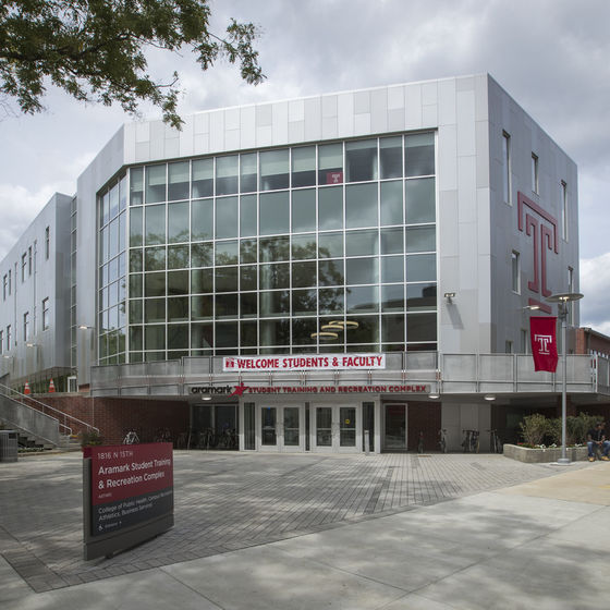 Temple University Aramark Student Training and Recreation (STAR) Complex